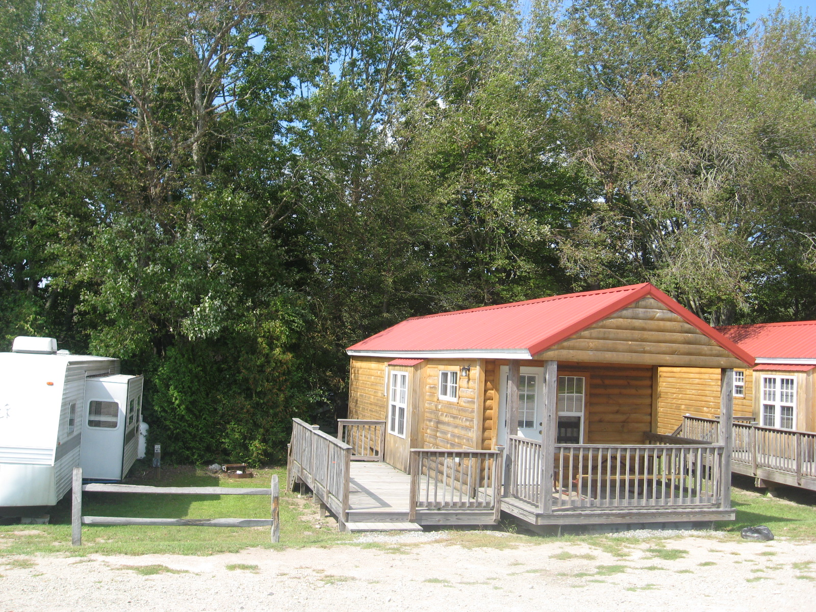 Site 117 with Cabin