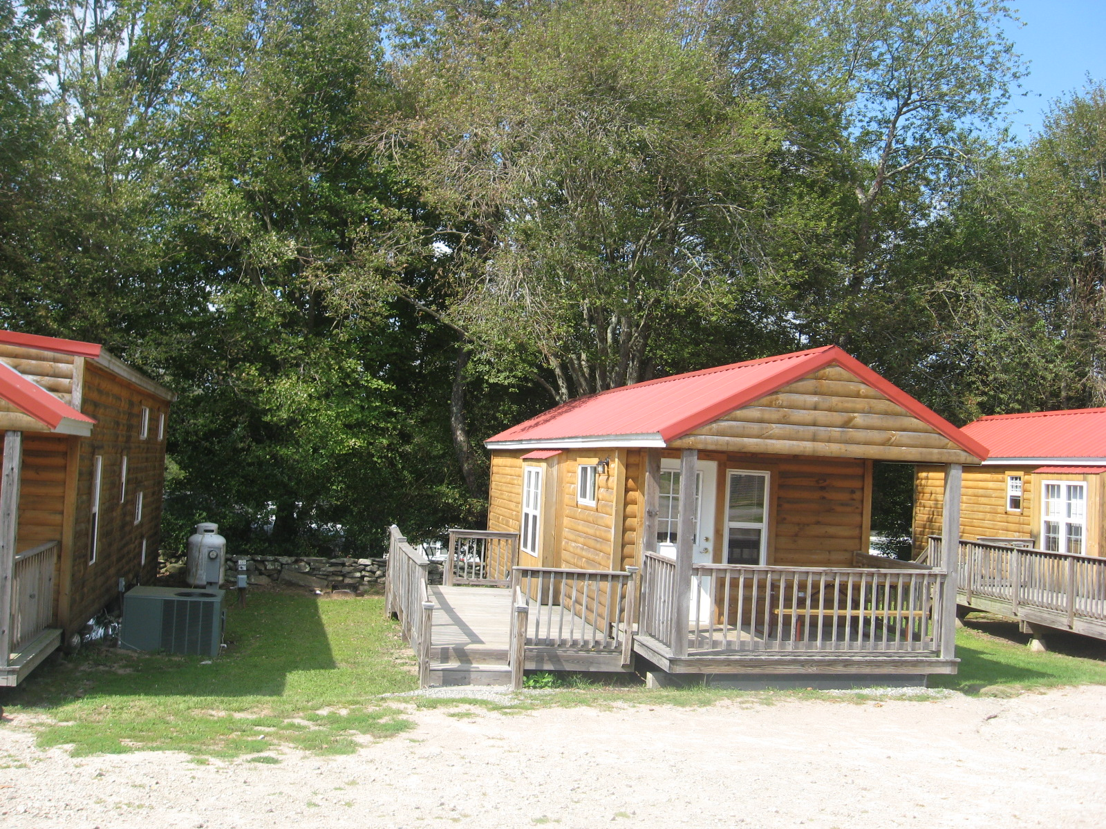 Site 118 with Cabin