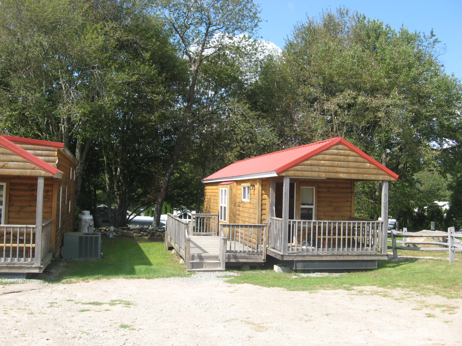 Site 119 with Cabin