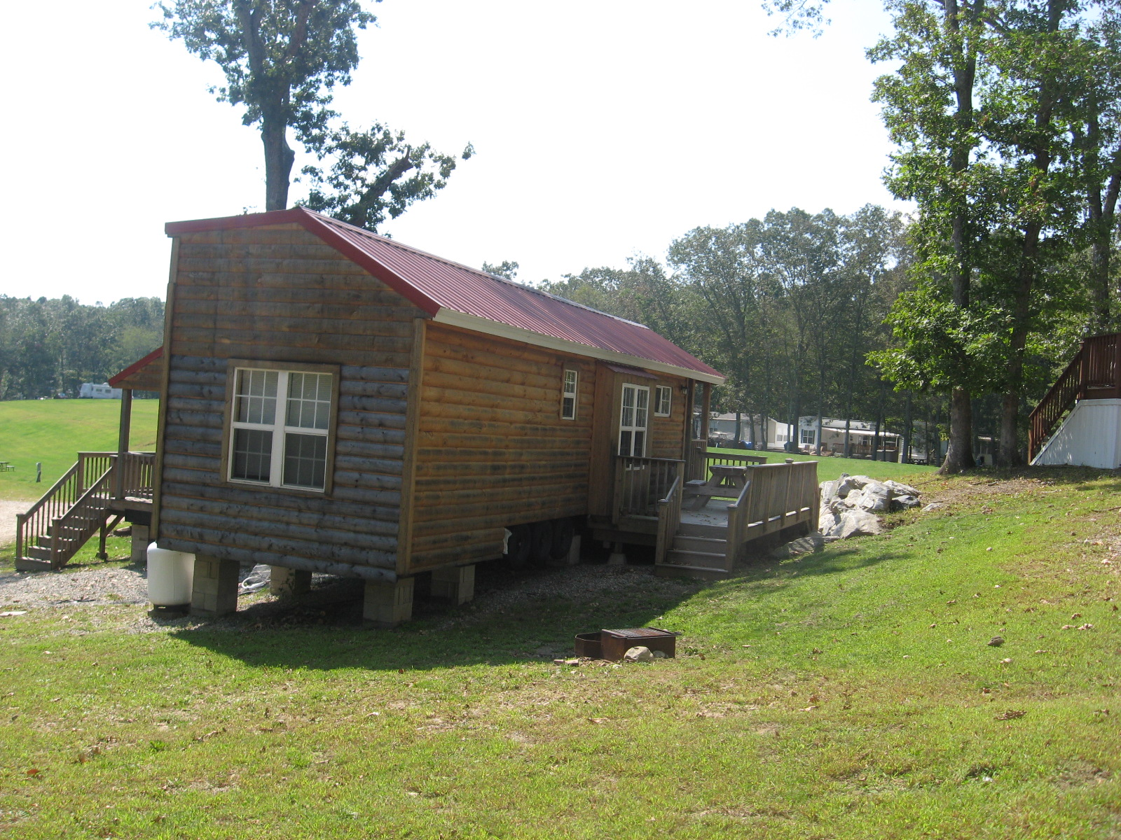 Site 421C with Cabin